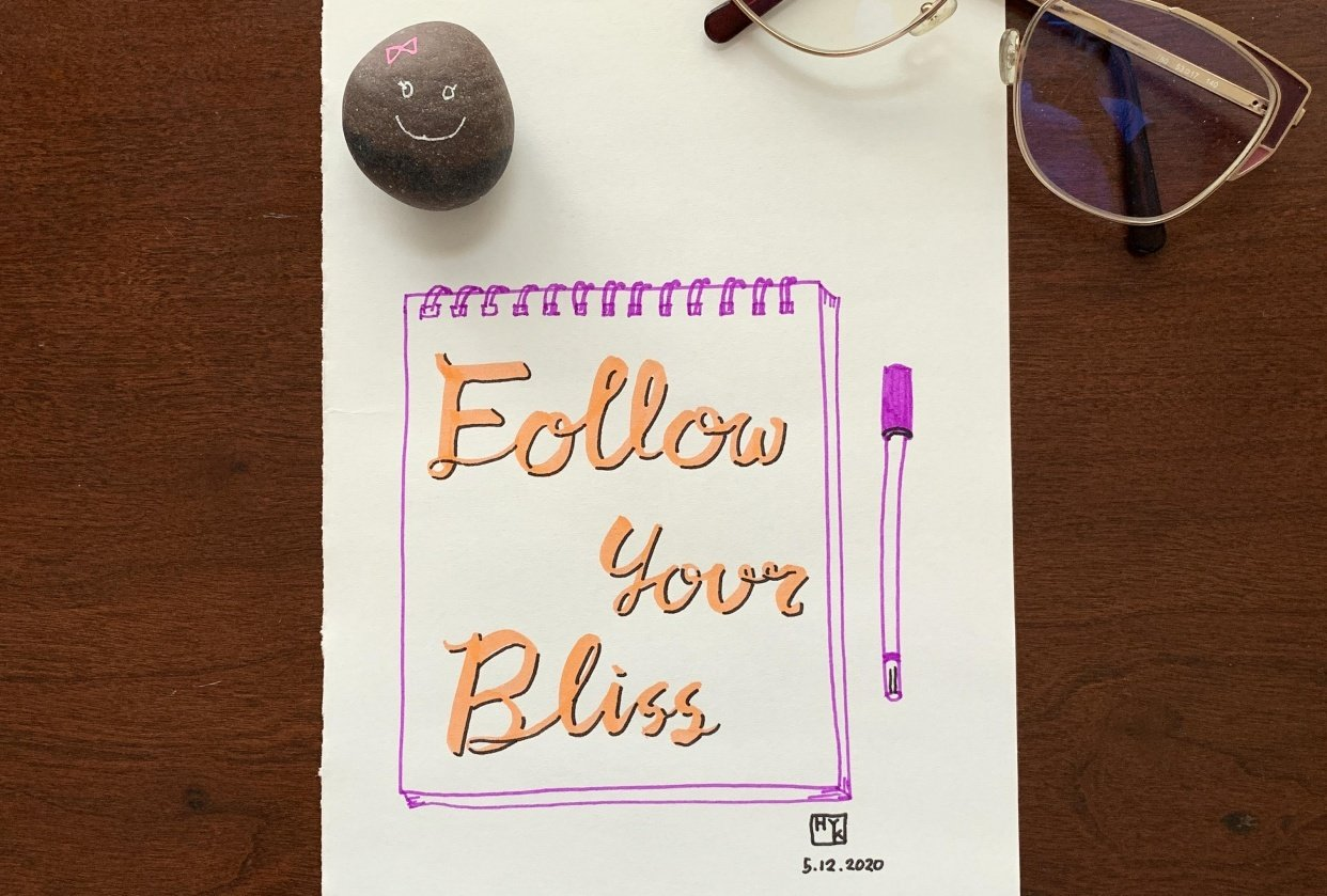 follow your bliss - student project