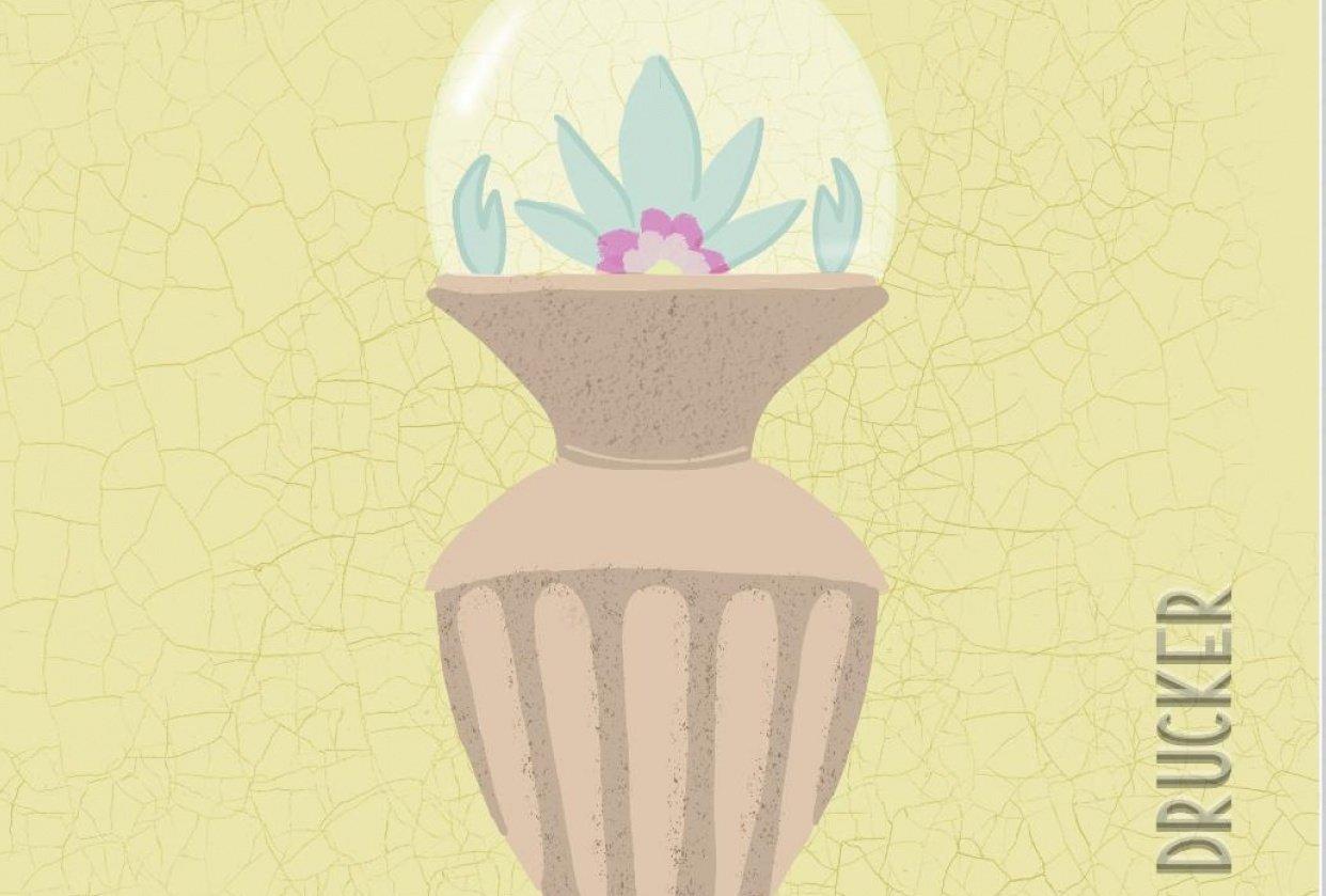 Vintage Terrarium Vase - student project