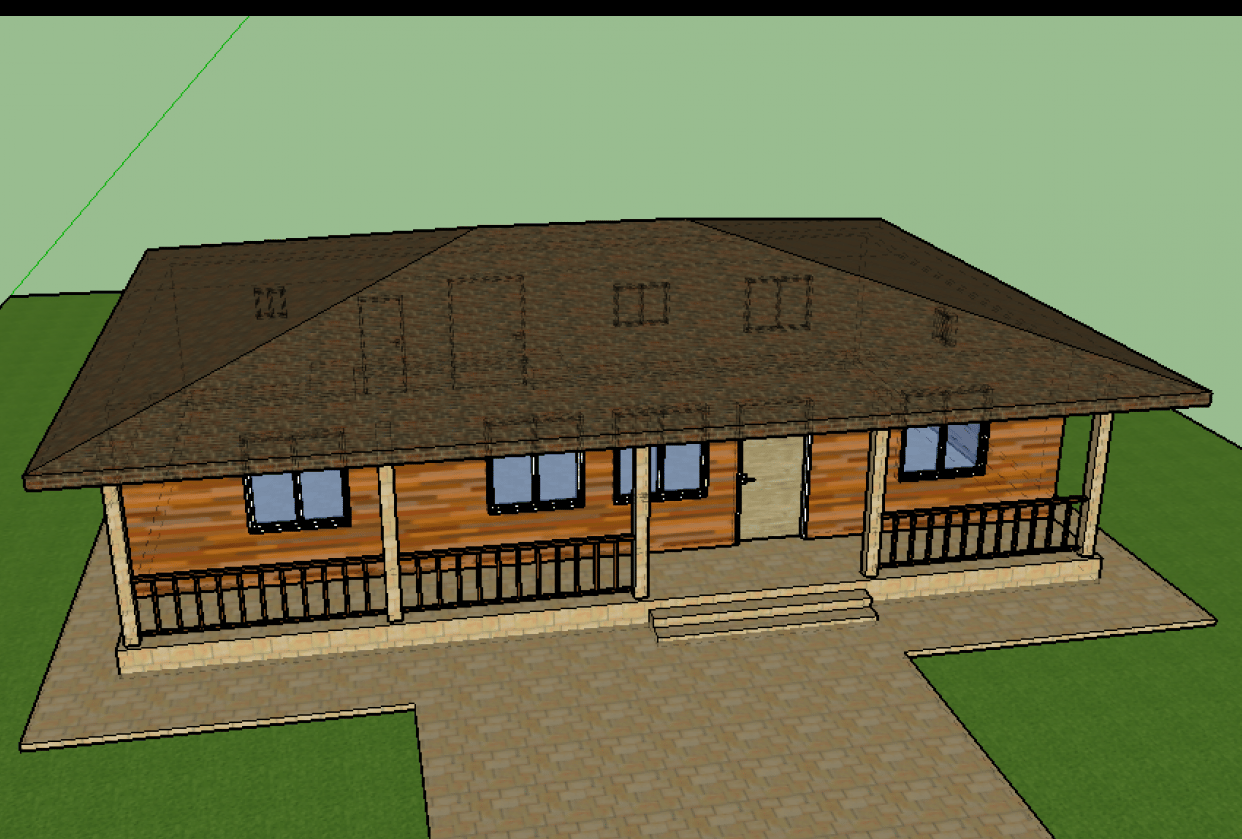 3D House - student project
