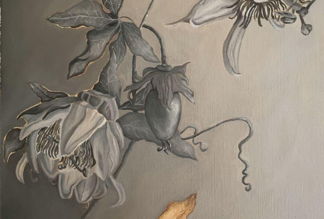 Passiflora Grisaille - student project