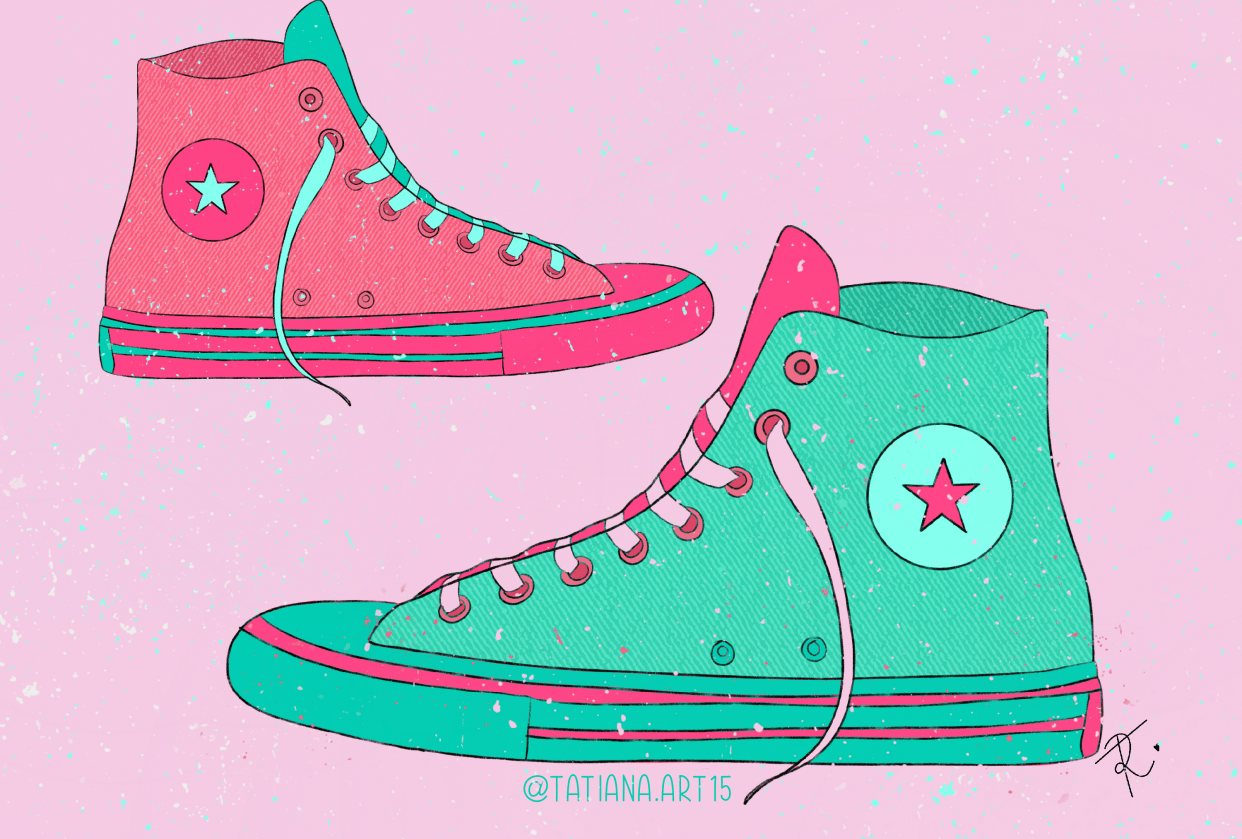 Converse limited palette - student project