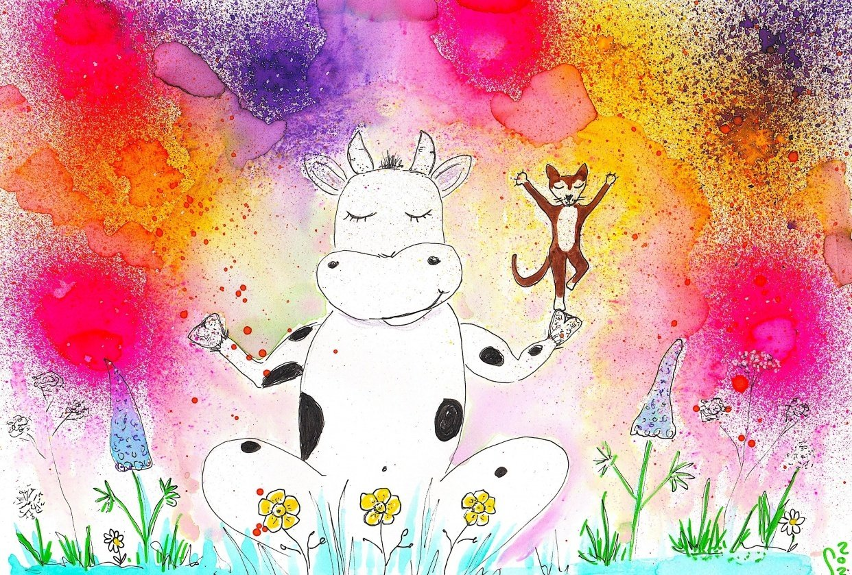 Holi Cow - student project