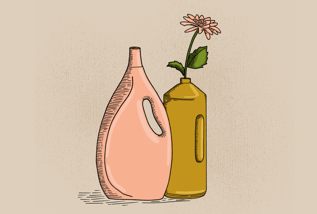 I love flowers and lots of vases - student project