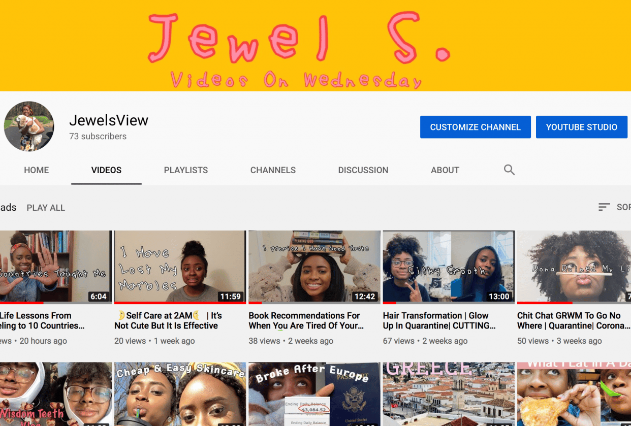 Jewelsview - student project