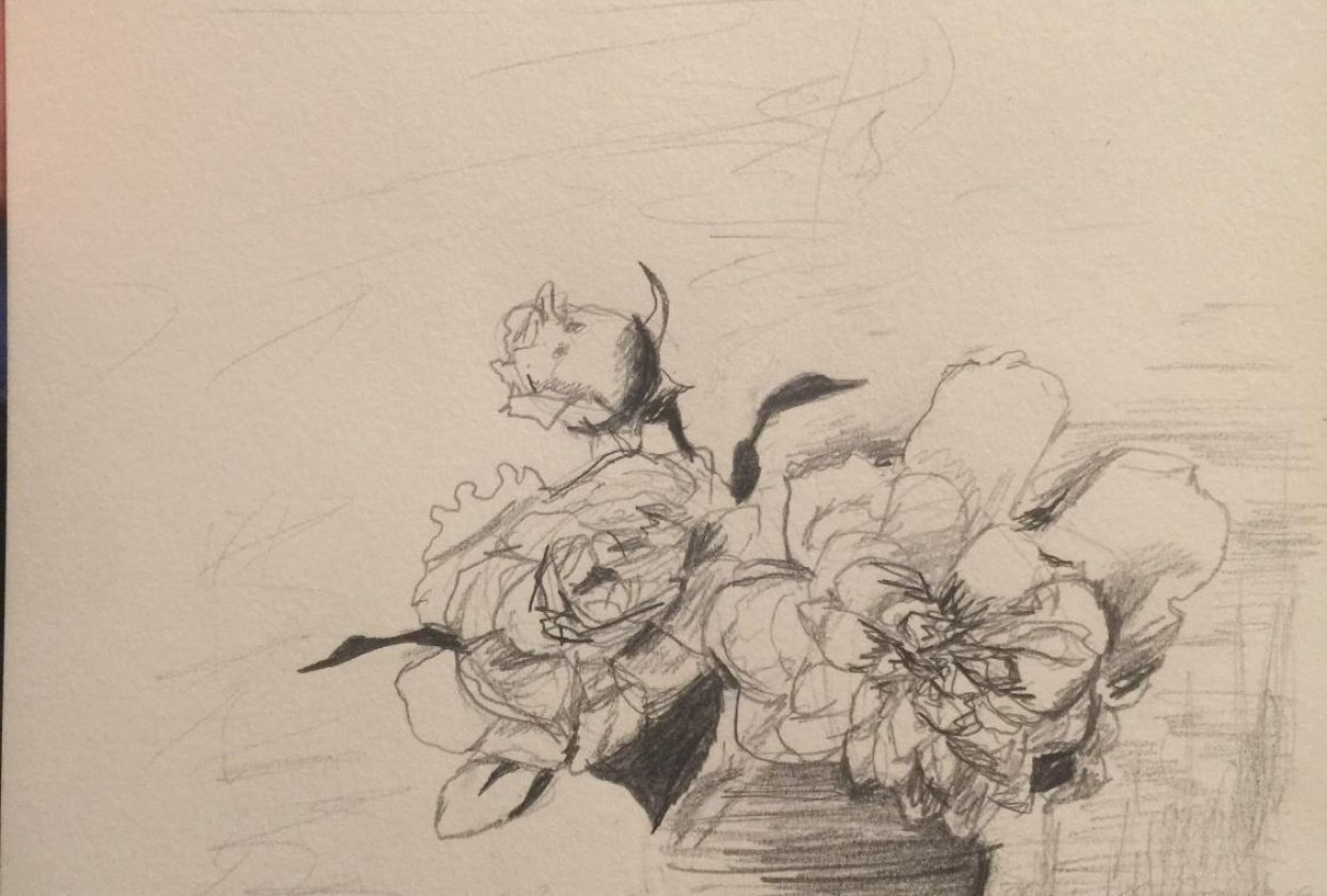 Exercise 1 - Pencil Study - student project