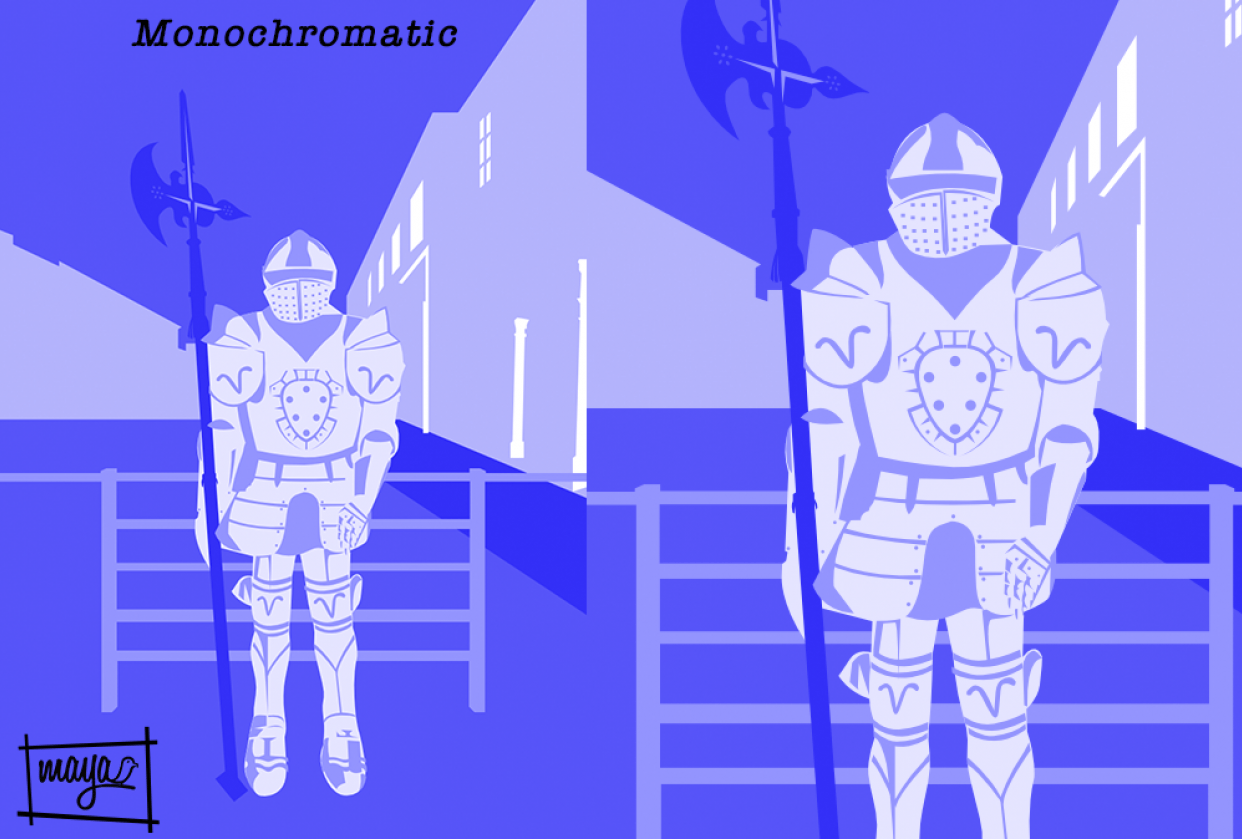 Knight's Armor of Rhodes - student project