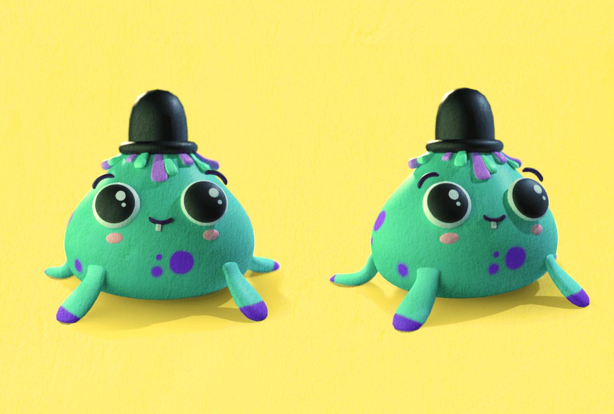 Little Blob Monster! - student project