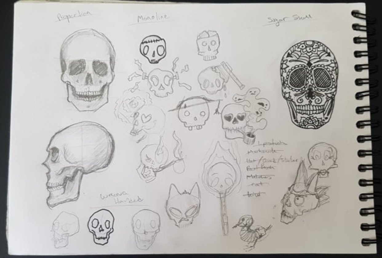 Skull Play - student project