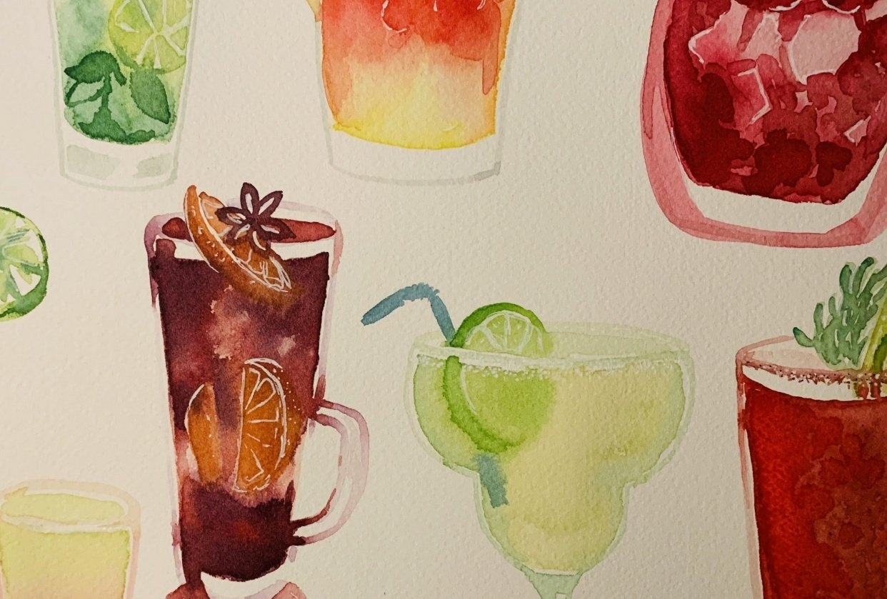 Cocktails - student project