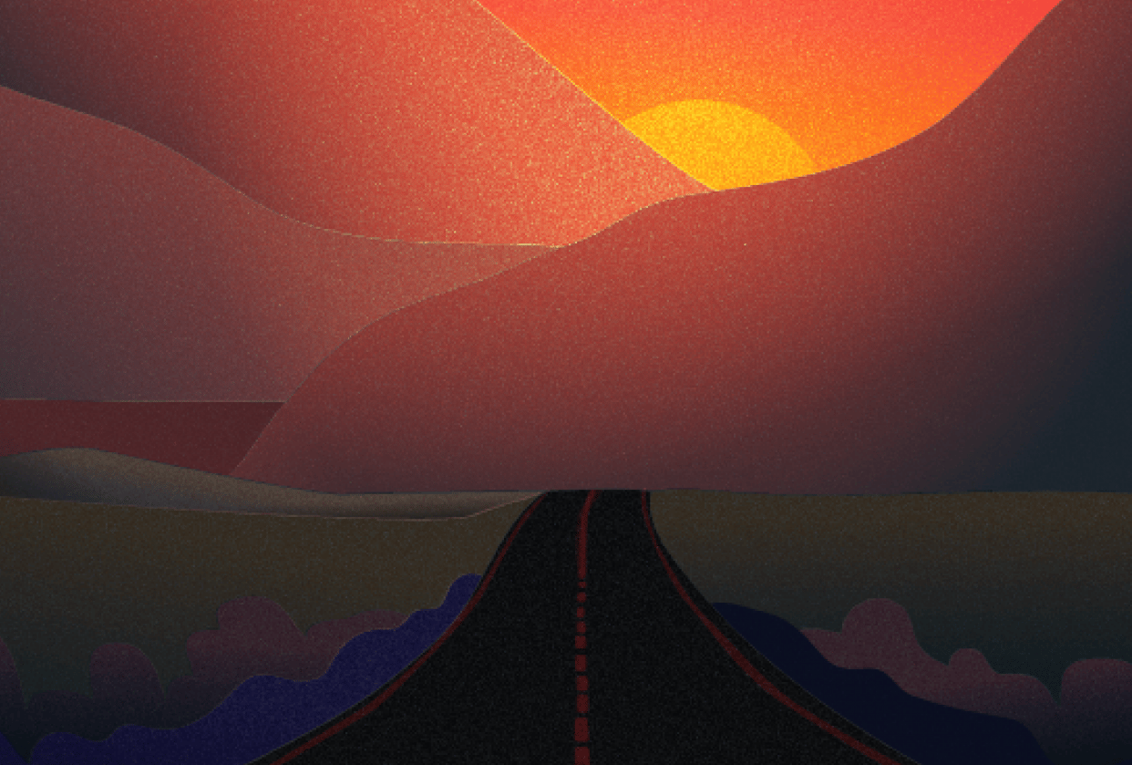 Sunset - student project