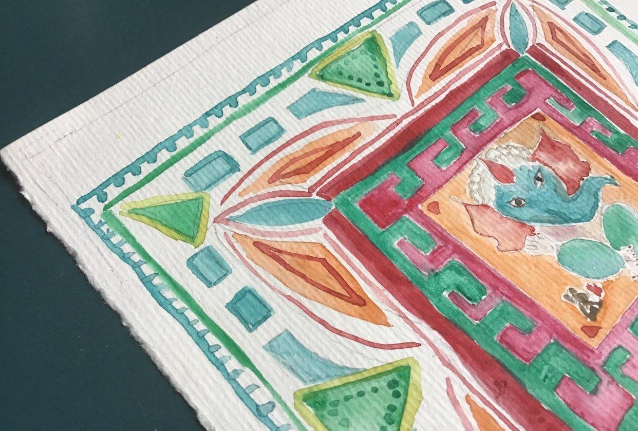Mandala & Ganesh - student project