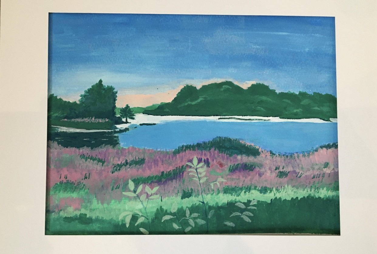 River Marsh - student project