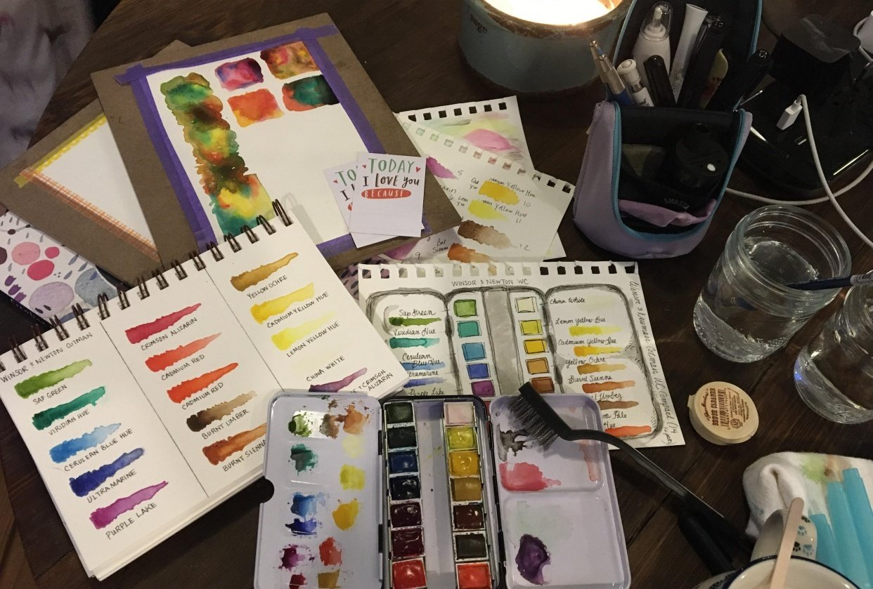 Friday Night Palette Prep - student project