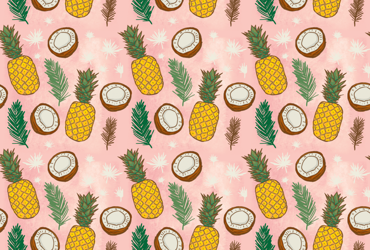 Pina Colada Pattern - student project