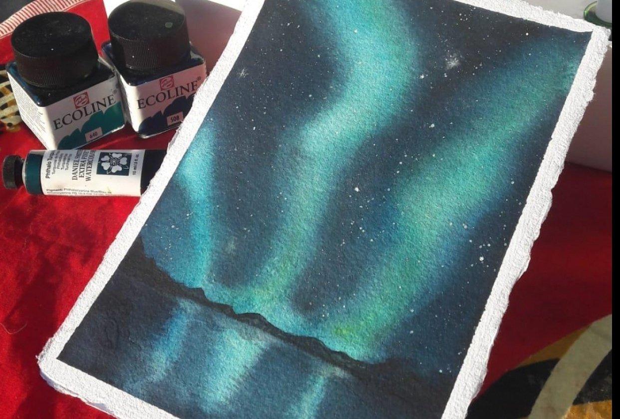 Aurora Borealis - student project