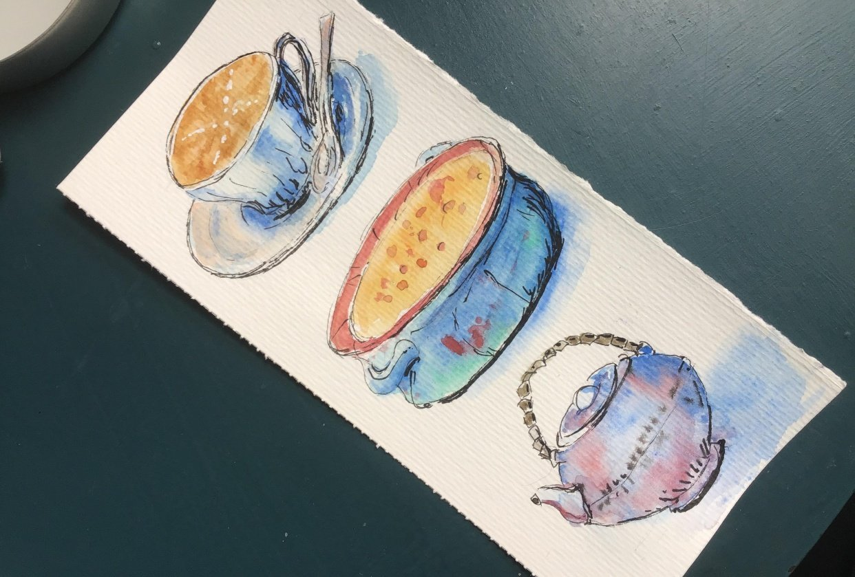 Dishware - student project