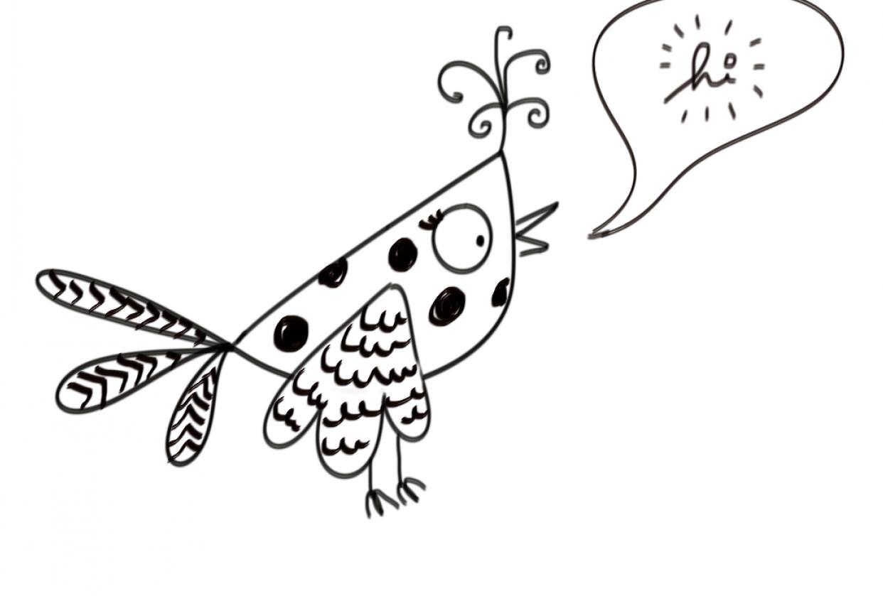 Gossip Birds - student project