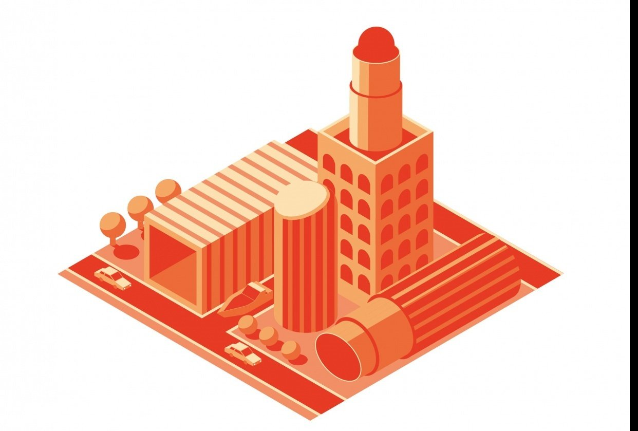 Lipstick Towers - student project