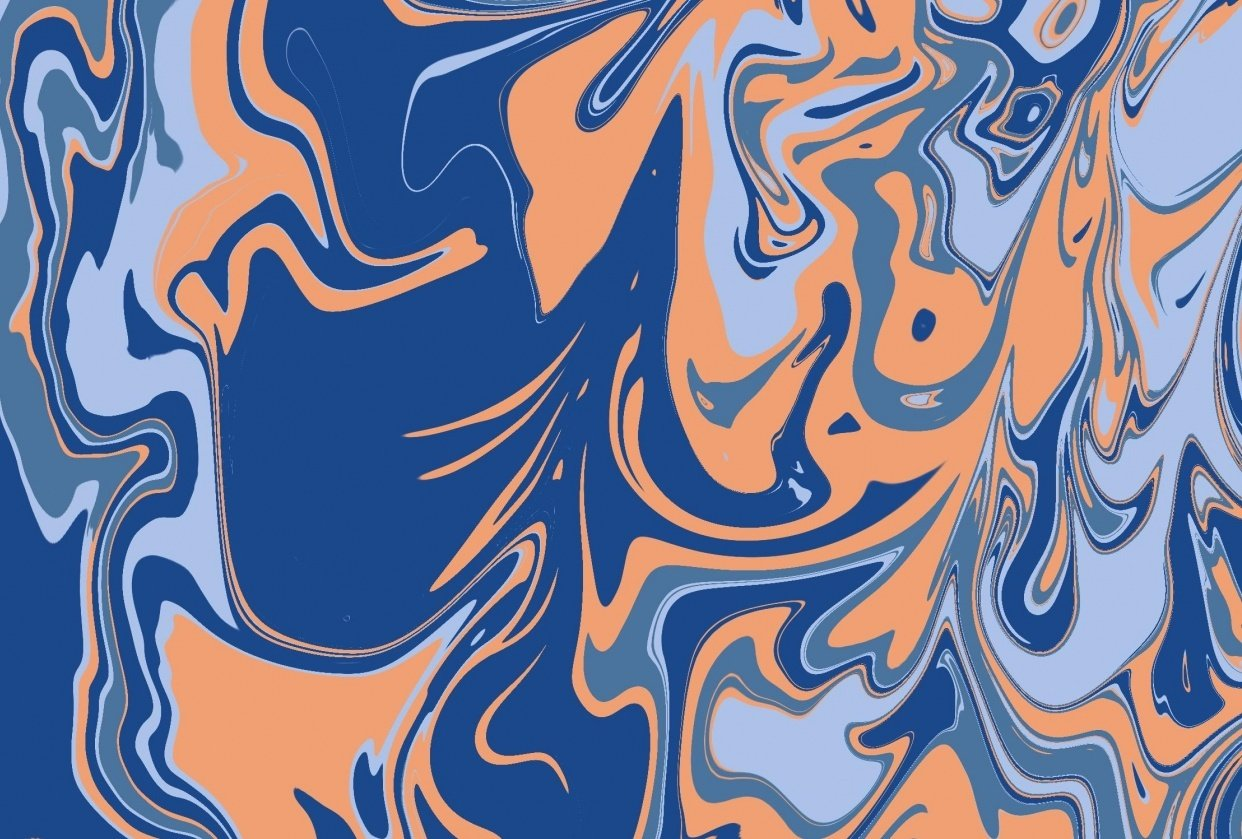Digital Marbling Practice - student project