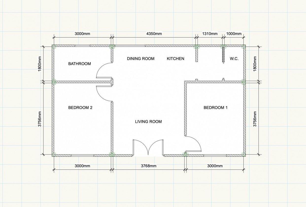 Flat Floorplan - student project