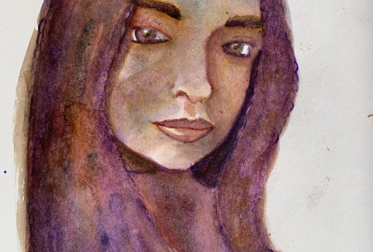 Self Portrait - student project