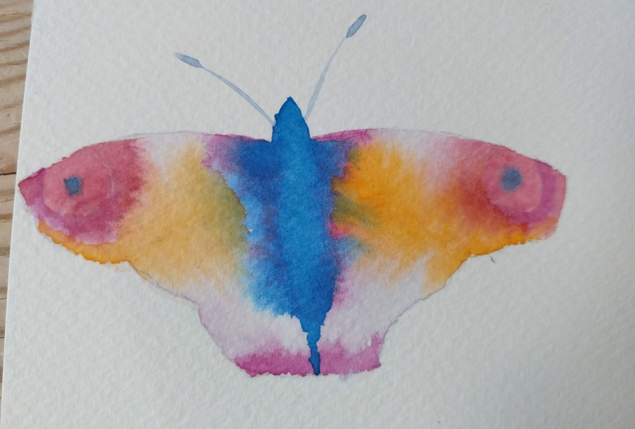 Simple Butterflyes - student project