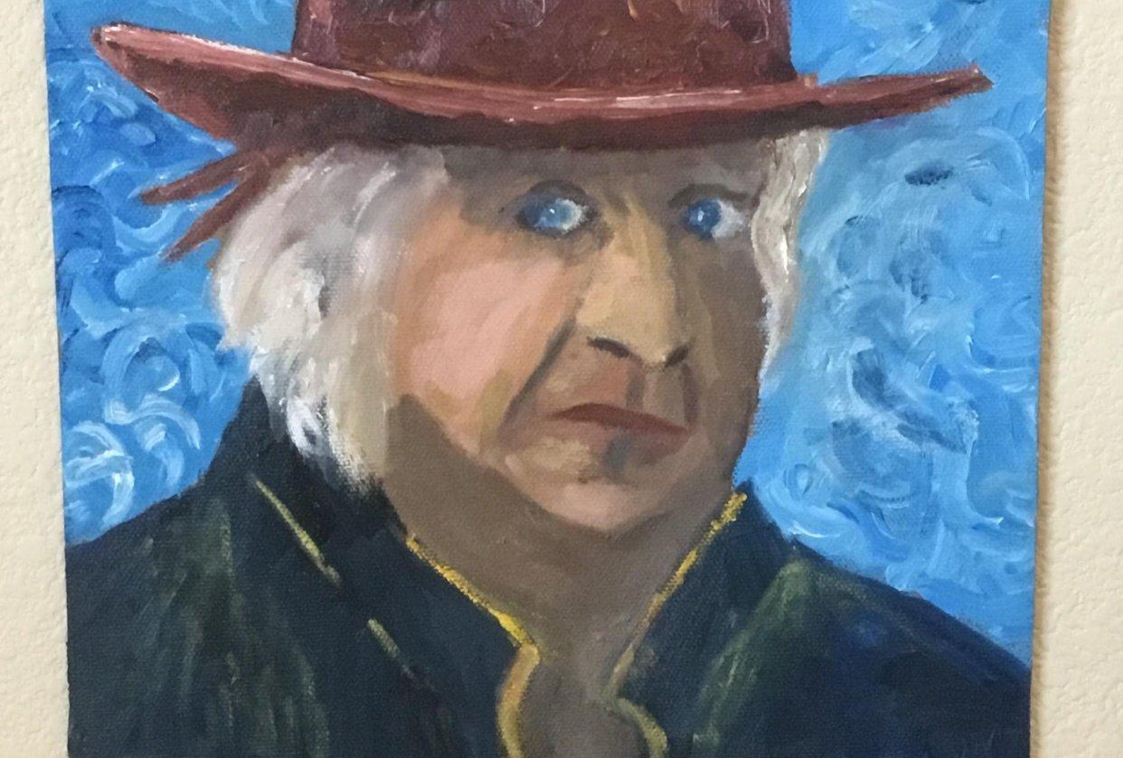 A Van Gogh Style Portrait - student project