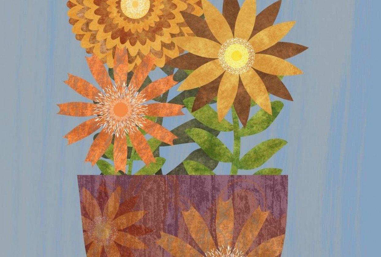 Vector Florals - student project