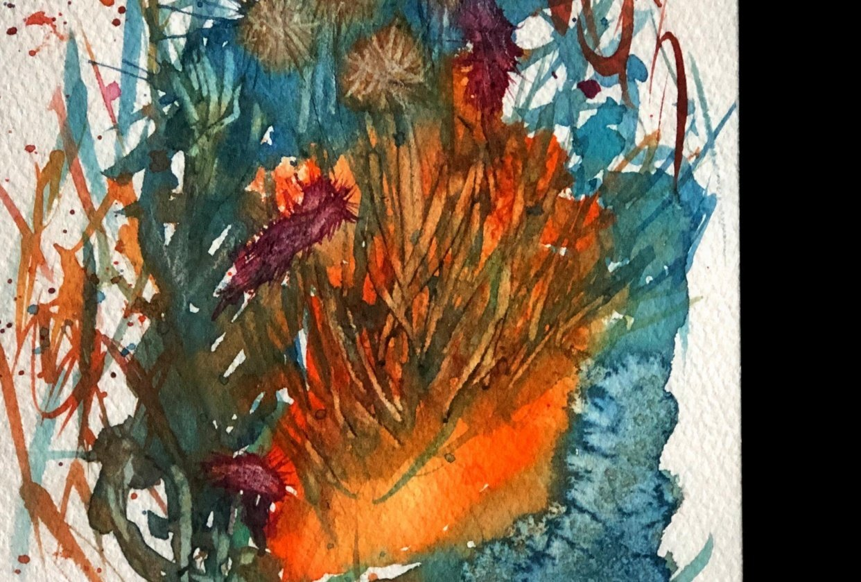 Wild Watercolors - student project