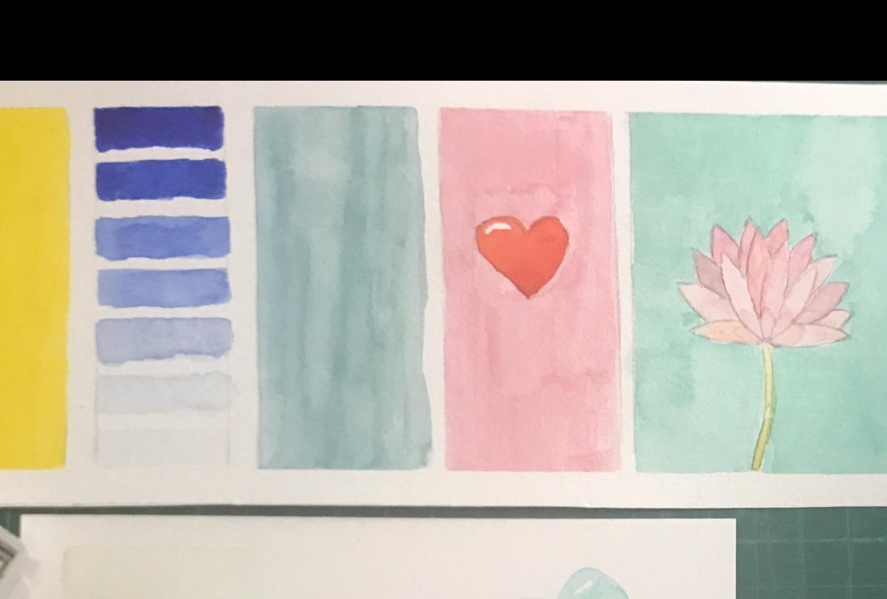 Watercolor project - student project