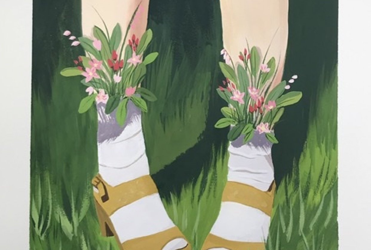 Flower Shoes - student project