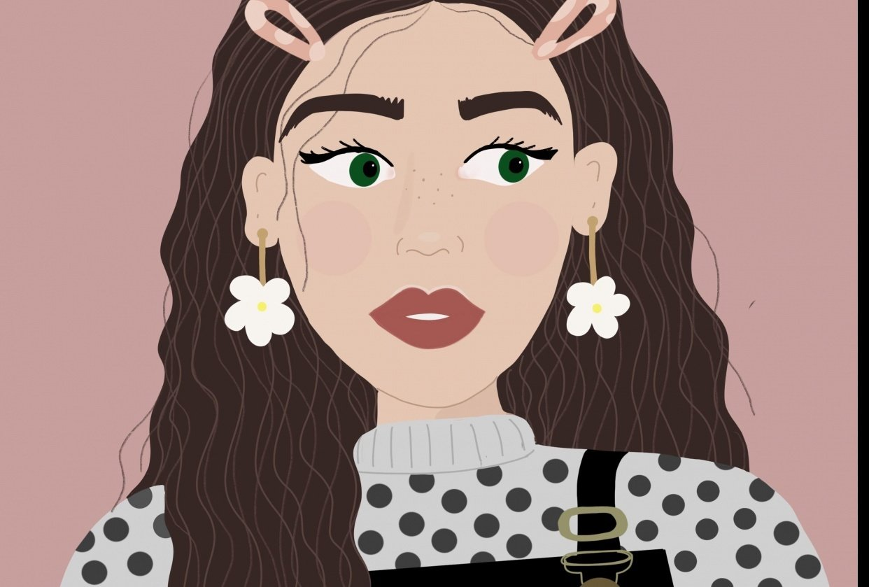 A Stylised Digital Portrait - student project