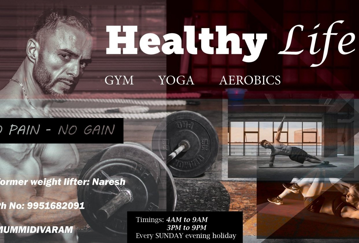 FLYER FOR GYM - student project