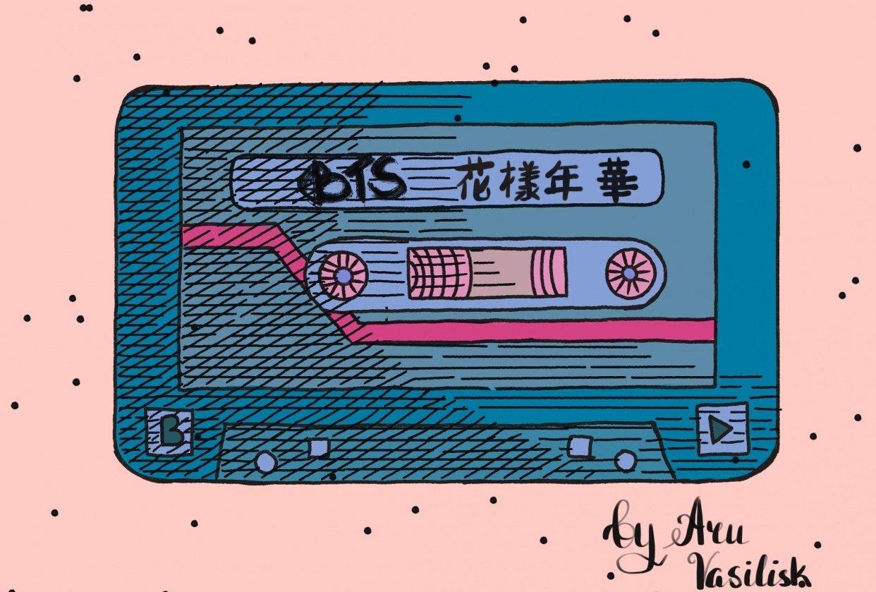 BTS cassette - student project