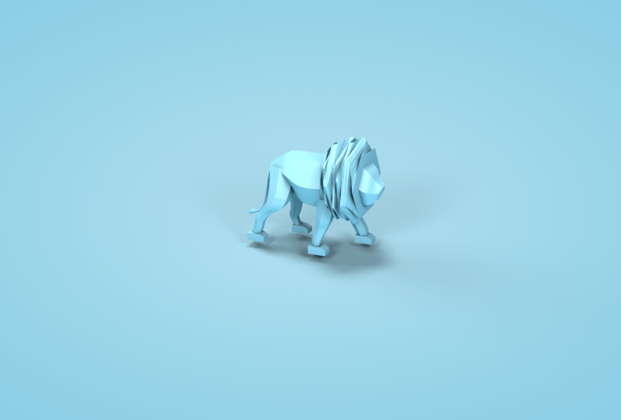 Low poly - student project