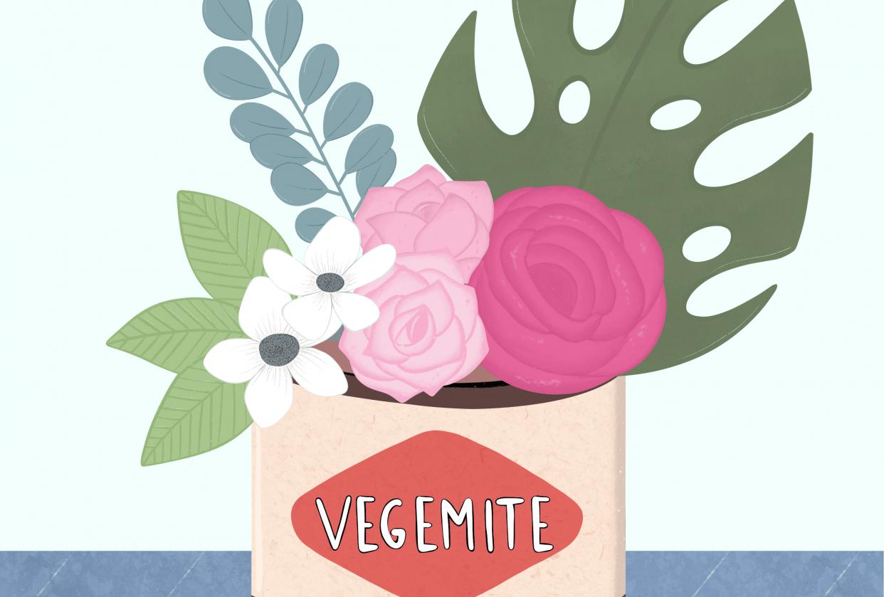 Vegemite bouquet - student project