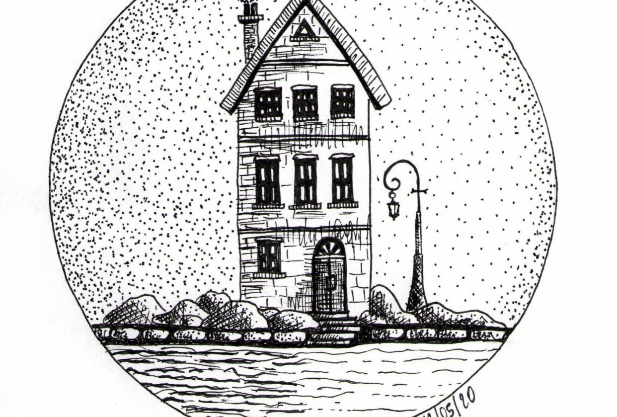 Pen&Ink house - student project