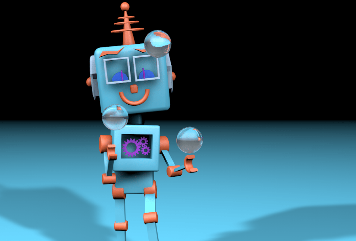 my little robot - student project