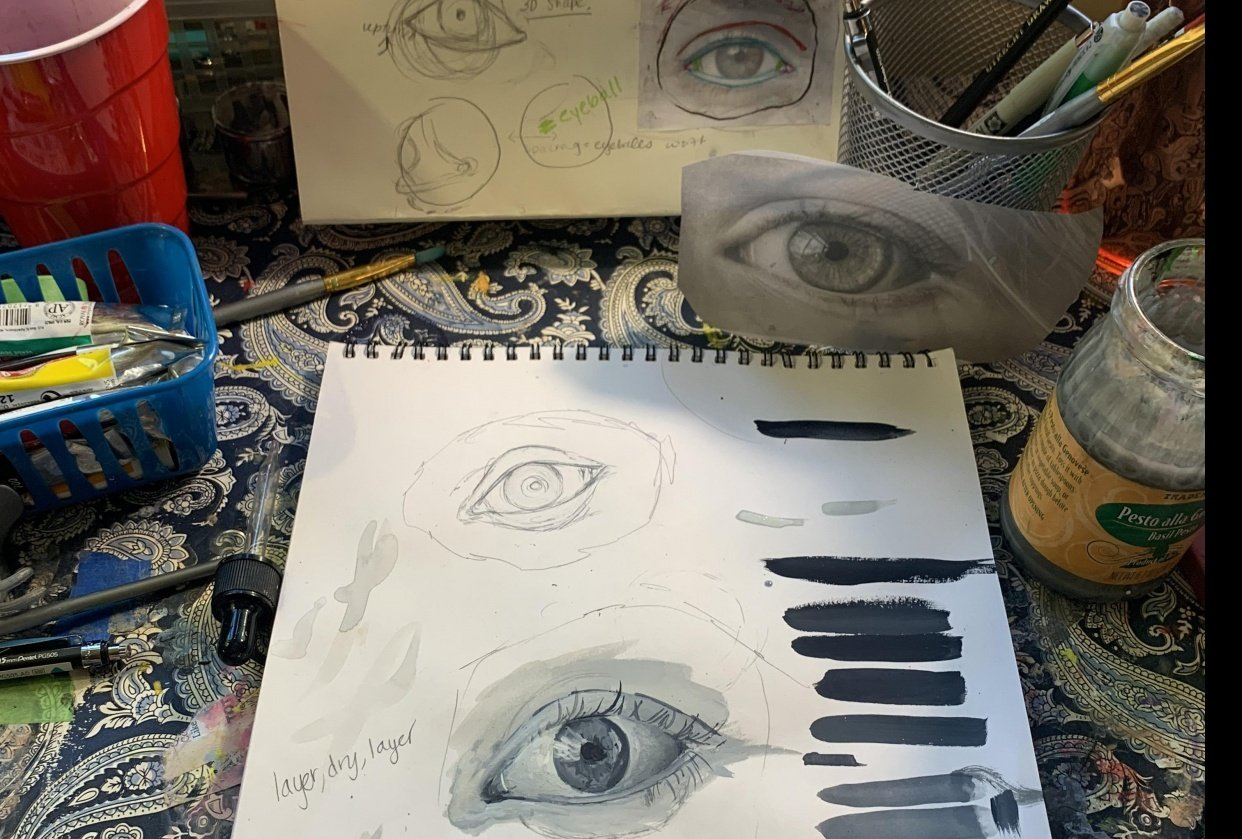 All About Eyes - student project