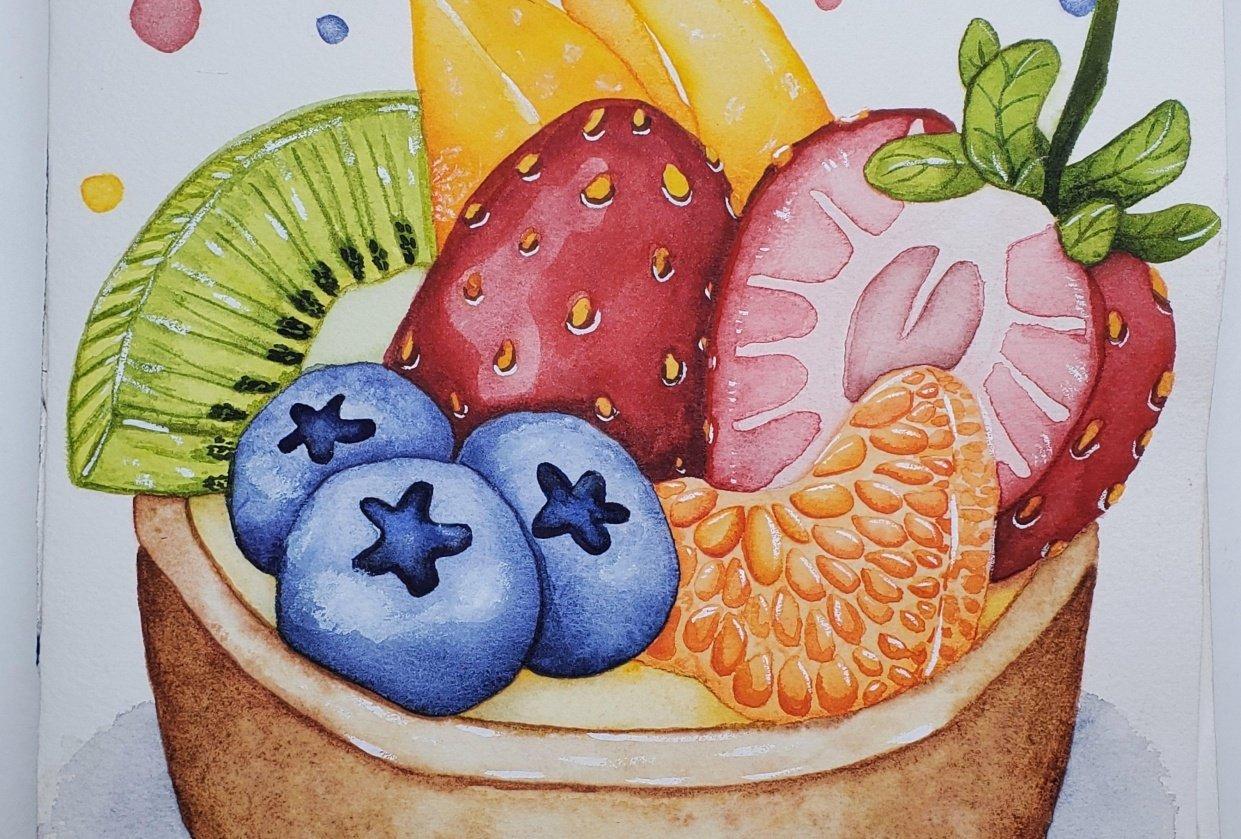 Rosi's Fruit Tart - student project