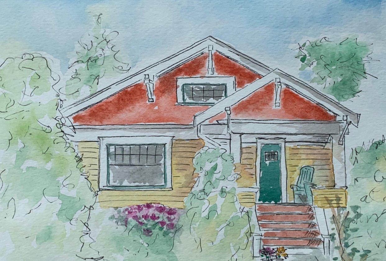 Wyatt's house - student project