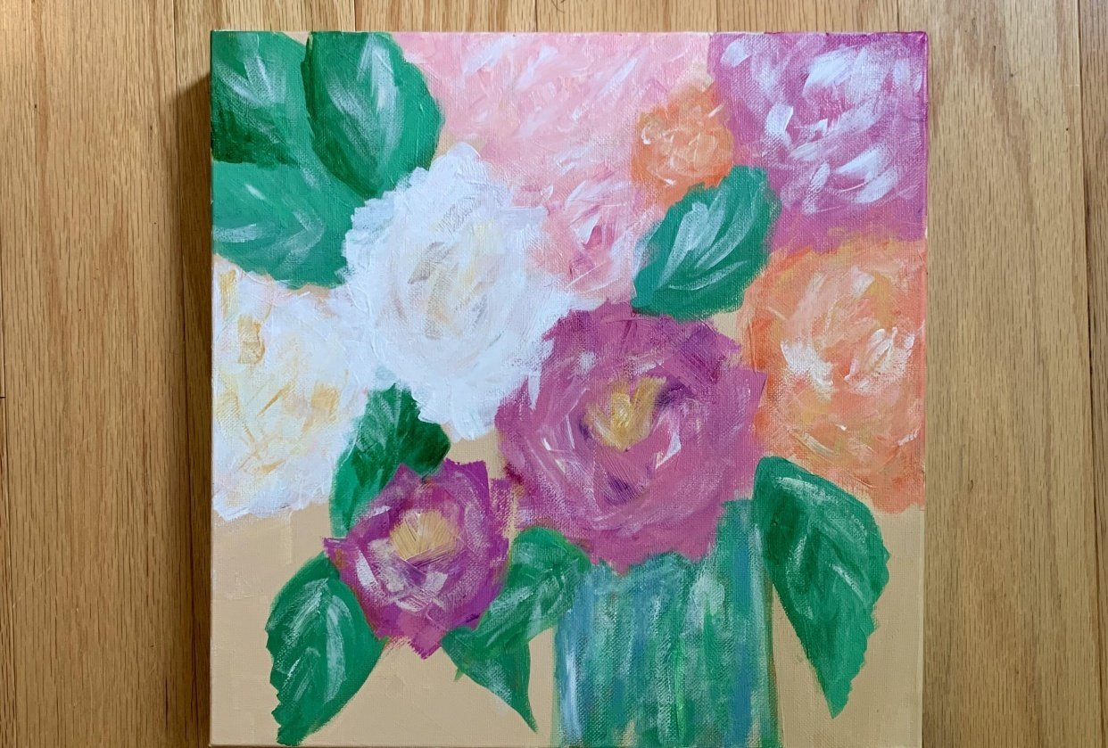 Spring Painting with the Boyfriend - student project