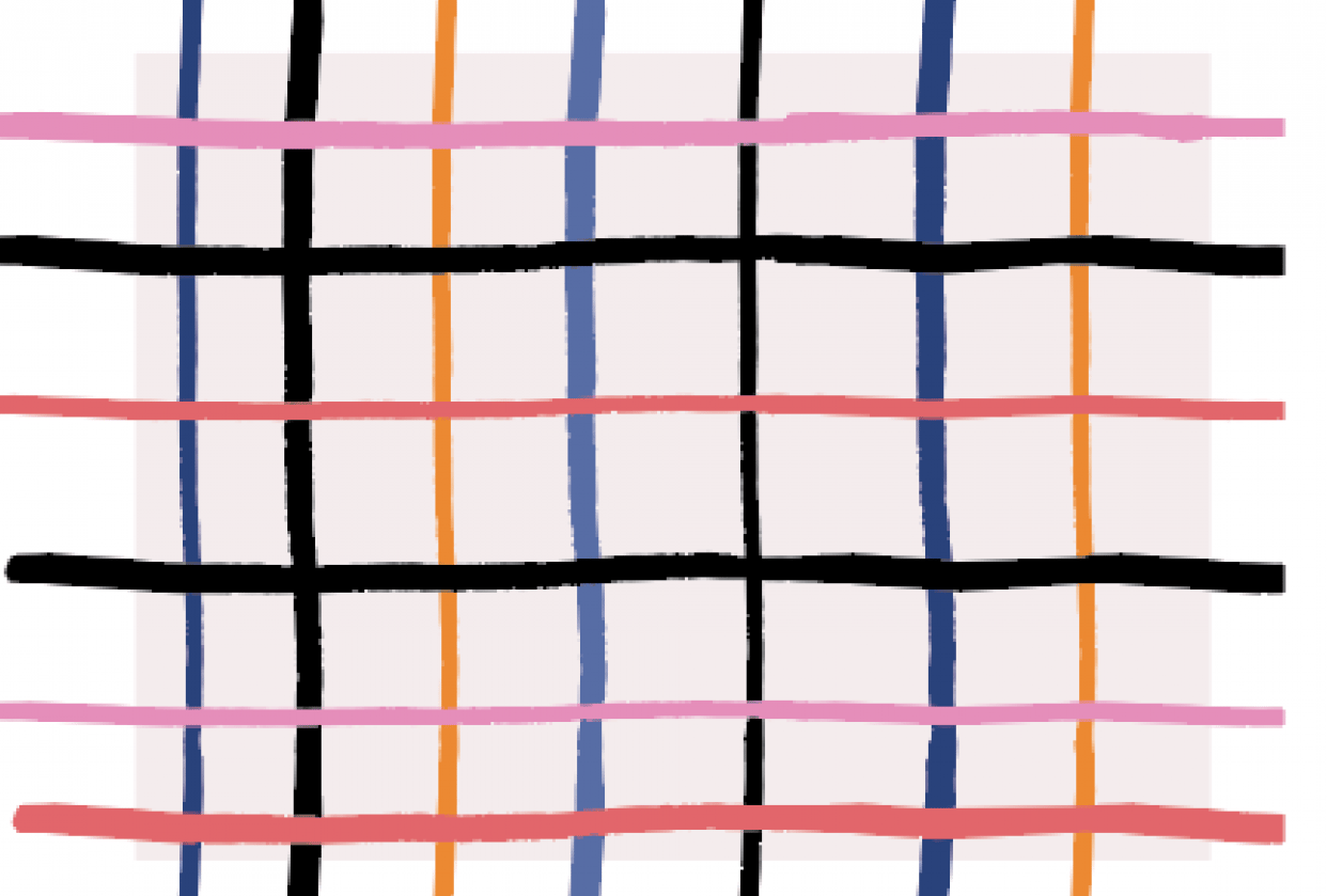 Colorful Plaid - student project