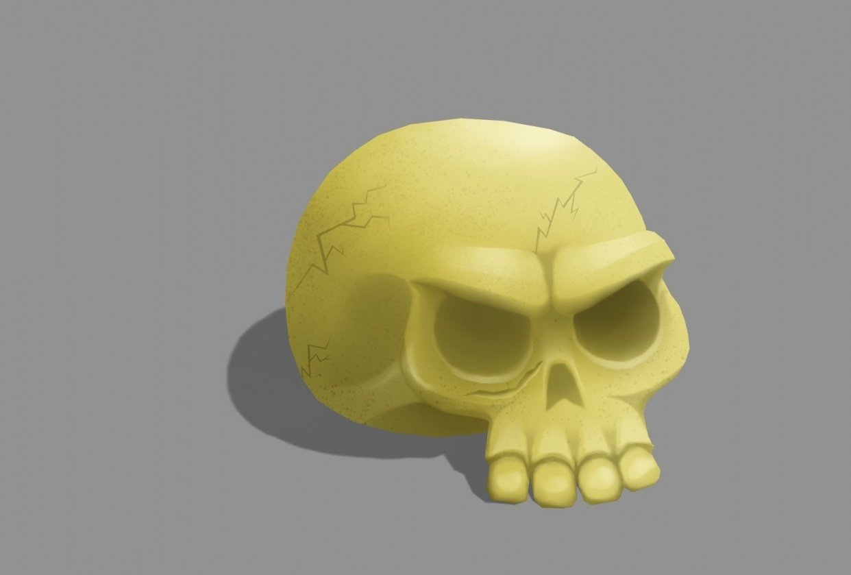 Skull and Bonsai - student project
