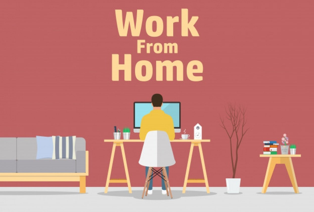 Quarantine Work from Home - student project