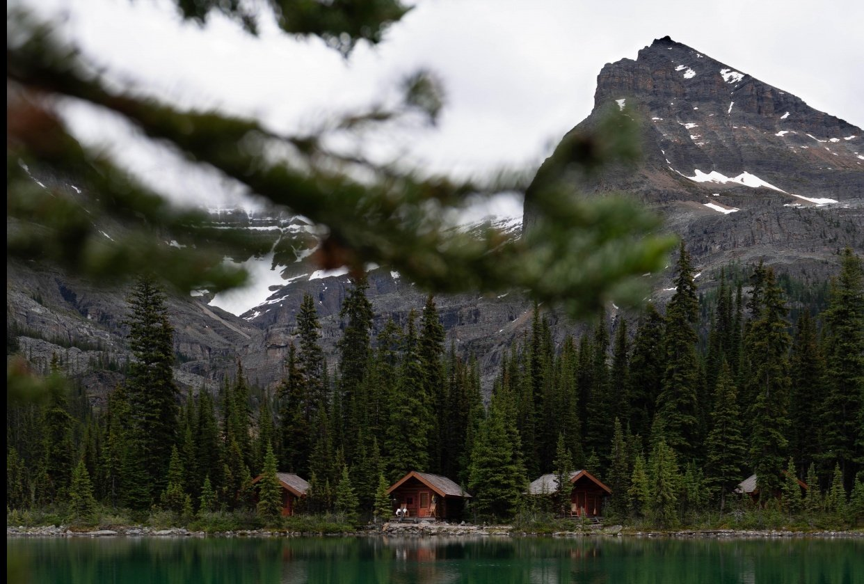 Backpacking through the Canadian Rockies - student project