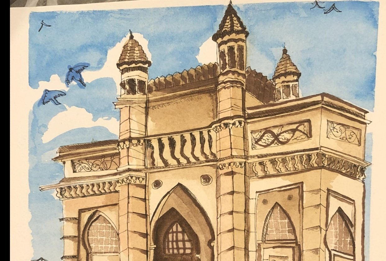 Gate way of India - Mumbai - student project