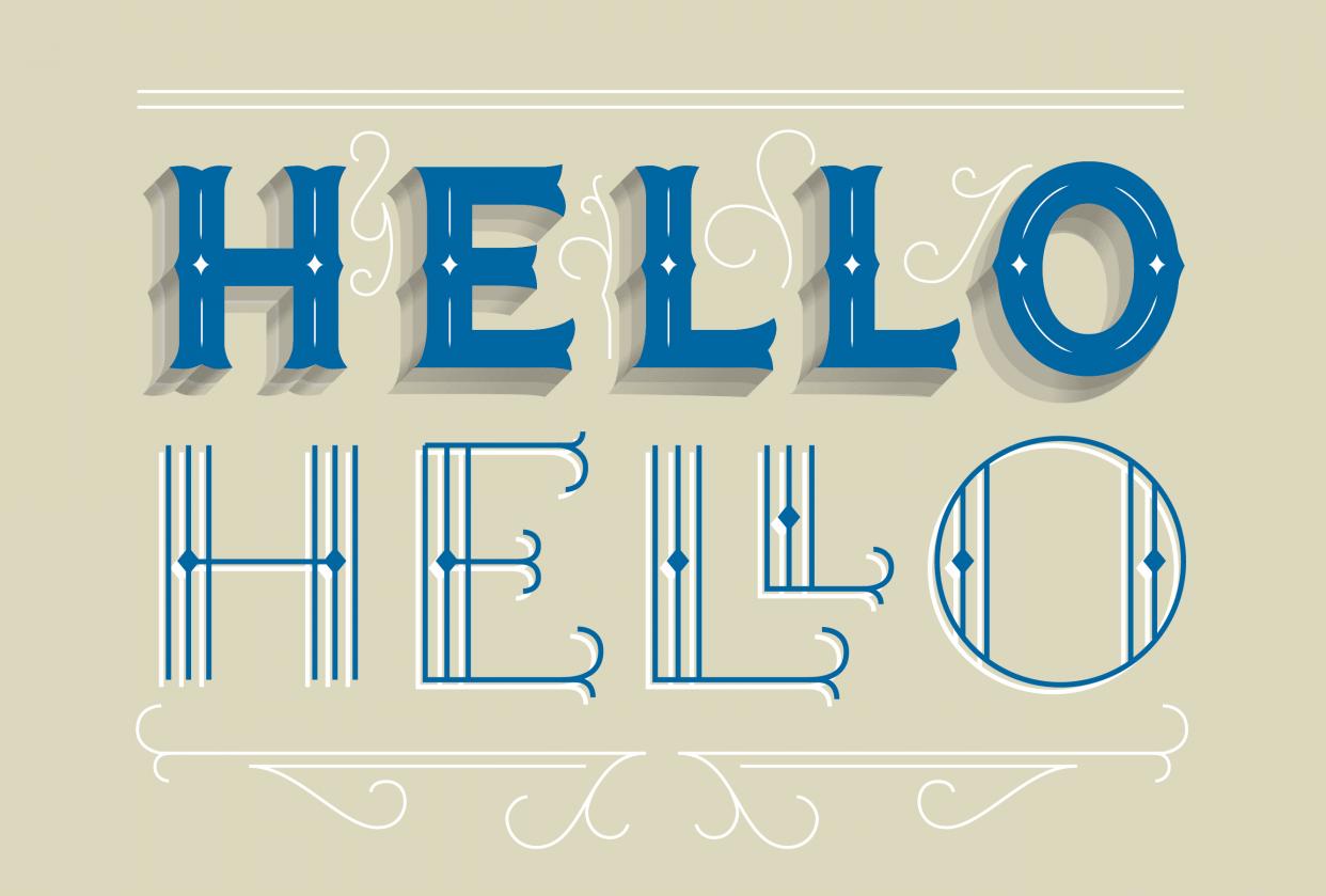 Hello Hello - student project