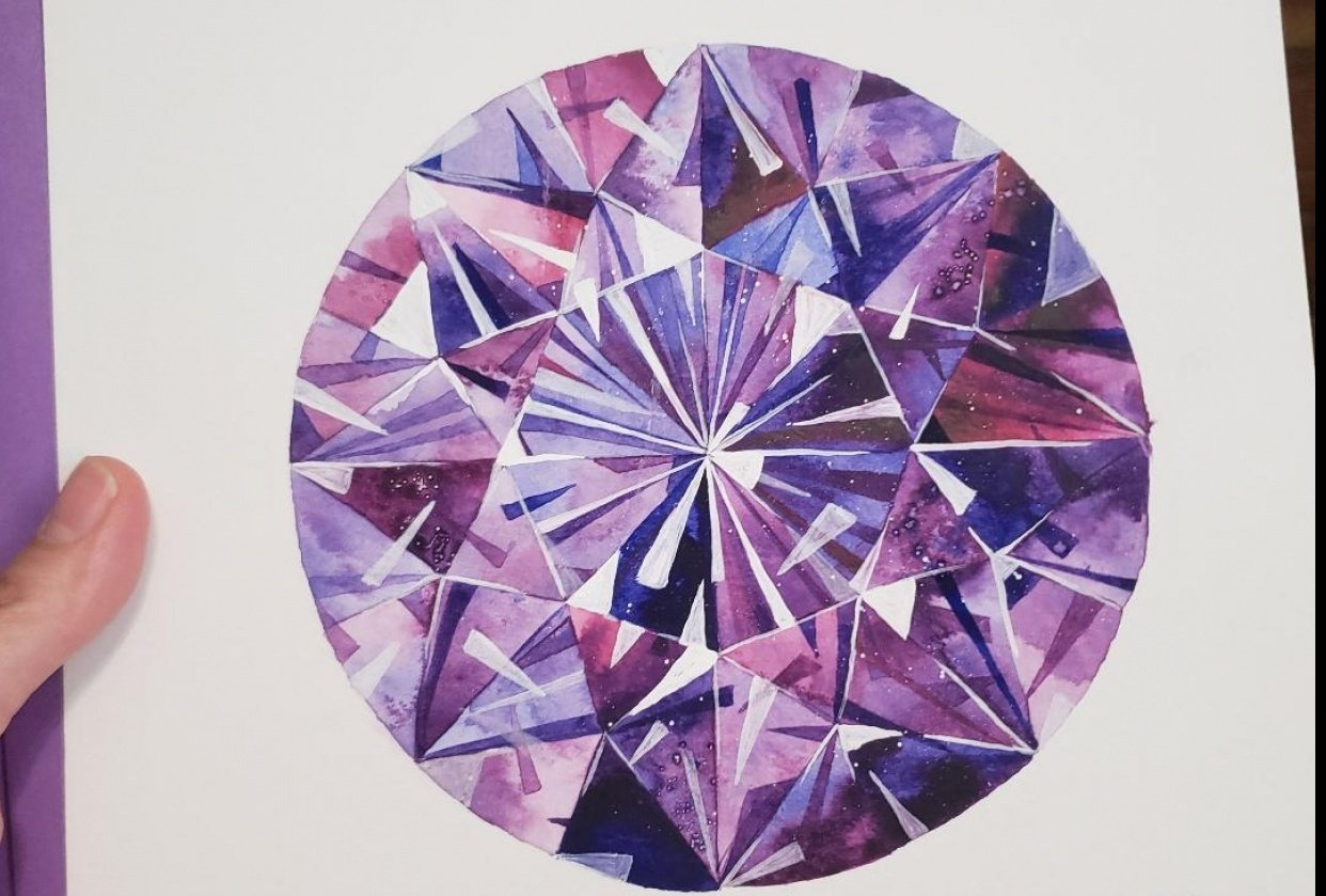 amethyst - student project