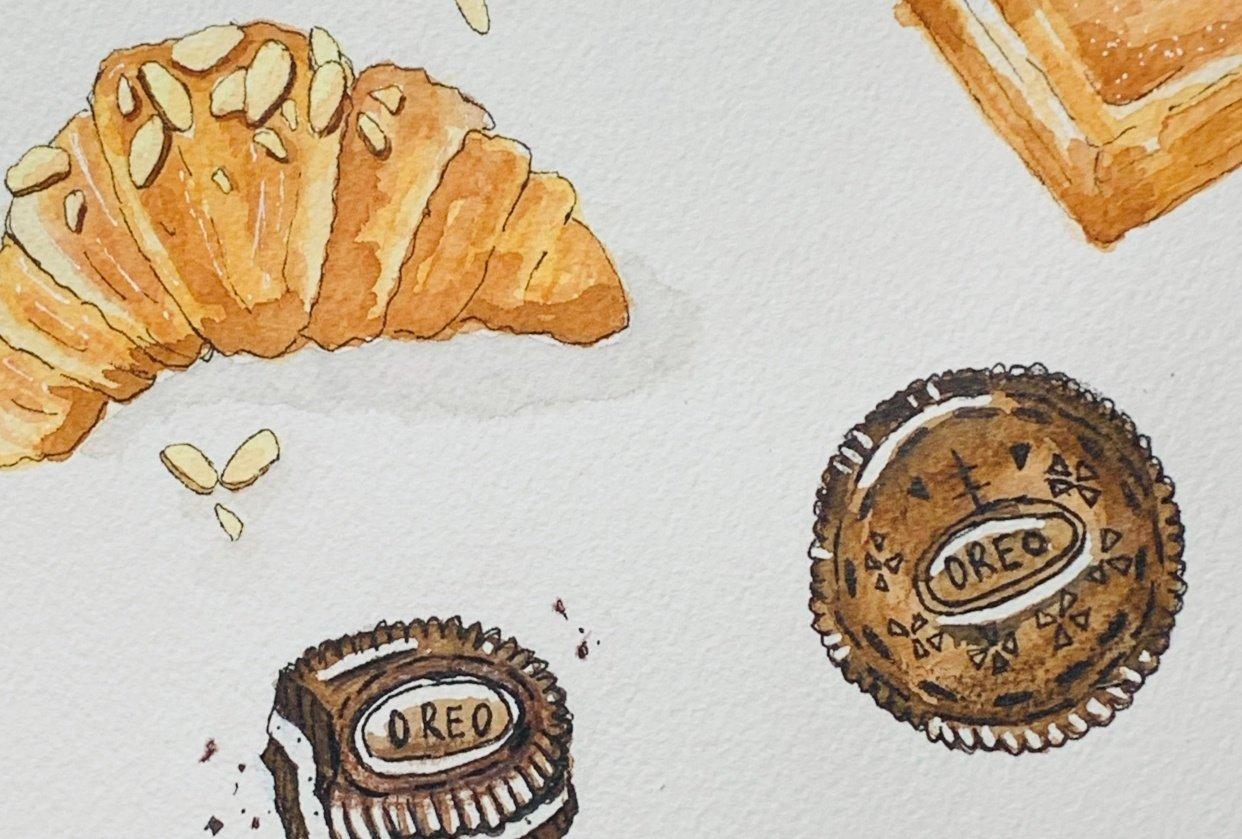 Pastries - student project